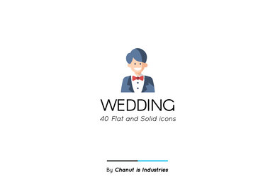 Wedding Premium Icon Pack 02