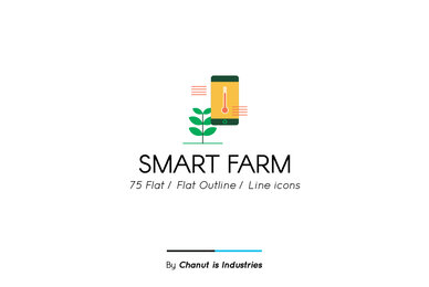 Smart Farm Premium Icon Pack