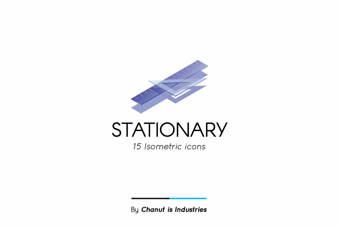 Stationary Premium Icon Pack