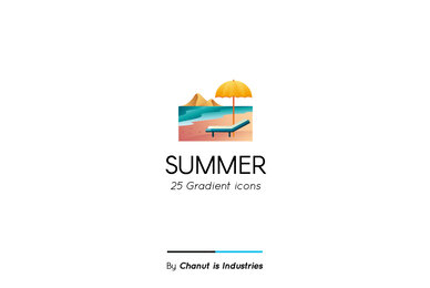 Summer Premium Icon Pack