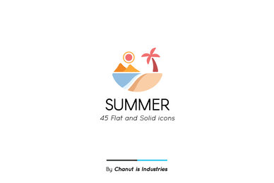 Summer Premium Icon Pack 02
