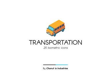 Transportation Premium Icon Pack