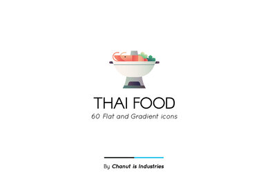 Thai Food Premium Icon Pack