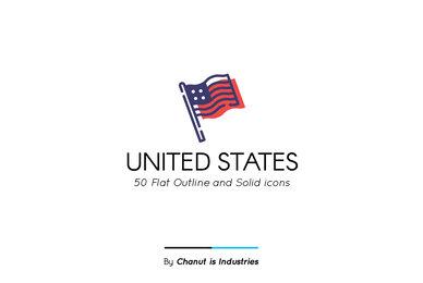 United States Premium Icon Pack