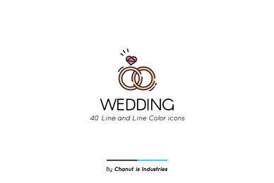Wedding Premium Icon Pack 03