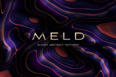 Meld     Glossy Abstract 3D Textures