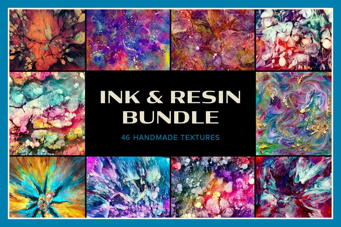 Ink   Resin Bundle