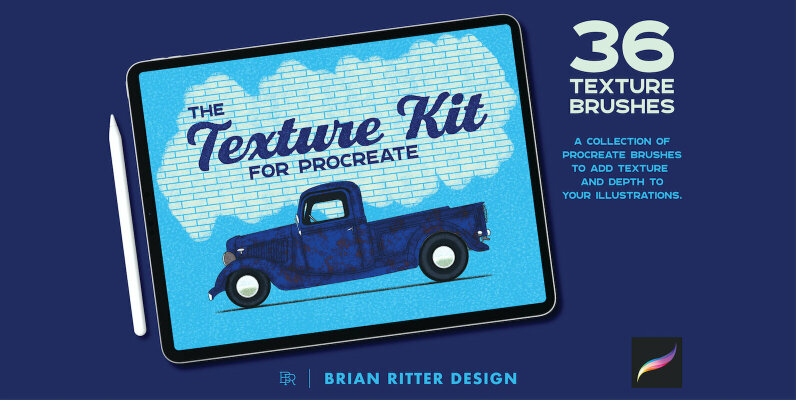 Texture Kit for Procreate