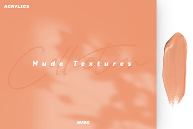 Acrylics Nude Textures Collection