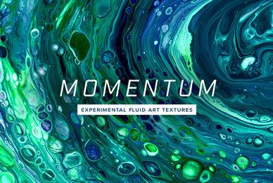 Momentum     8K Experimental Fluid Art Textures