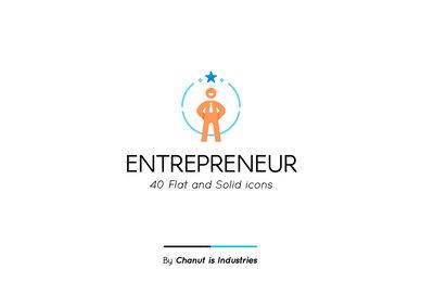 Entrepreneur Premium Icon Pack