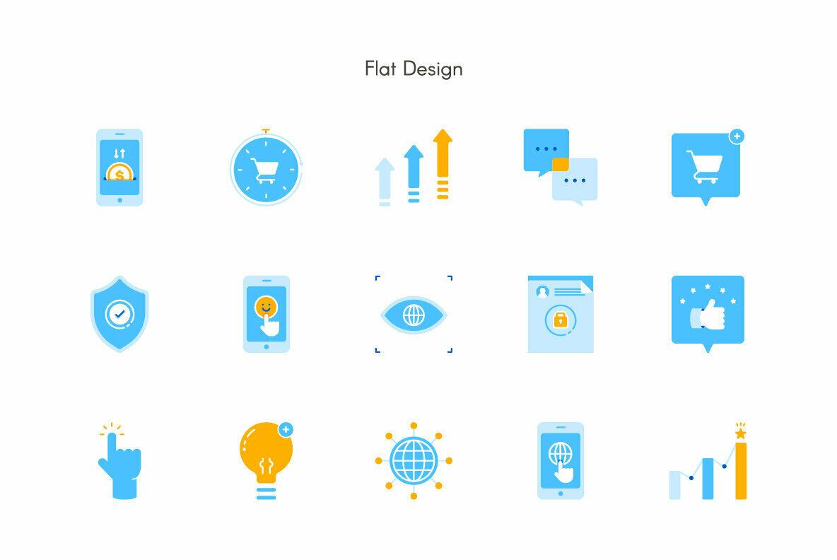 Online Business Premium Icon Pack