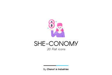 She conomy Premium Icon Pack