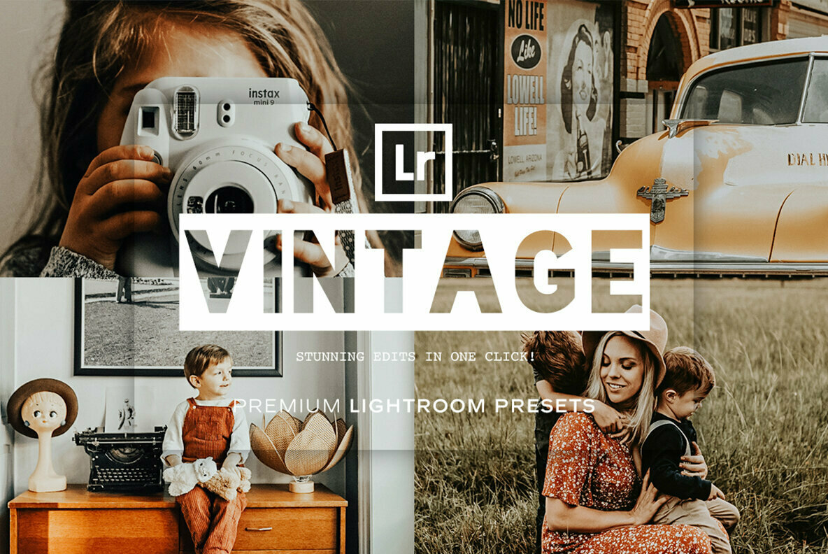 Vintage Lightroom Presets