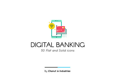 Digital Banking Premium Icon Pack