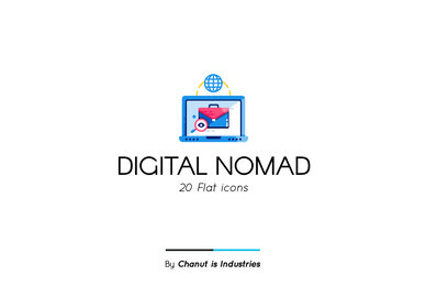 Digital Nomad Premium Icon Pack