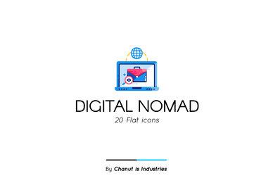Digital Nomad Premium Icon Pack