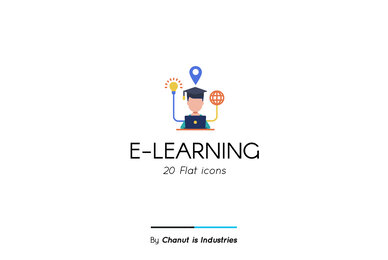 E Learning Premium Icon Pack