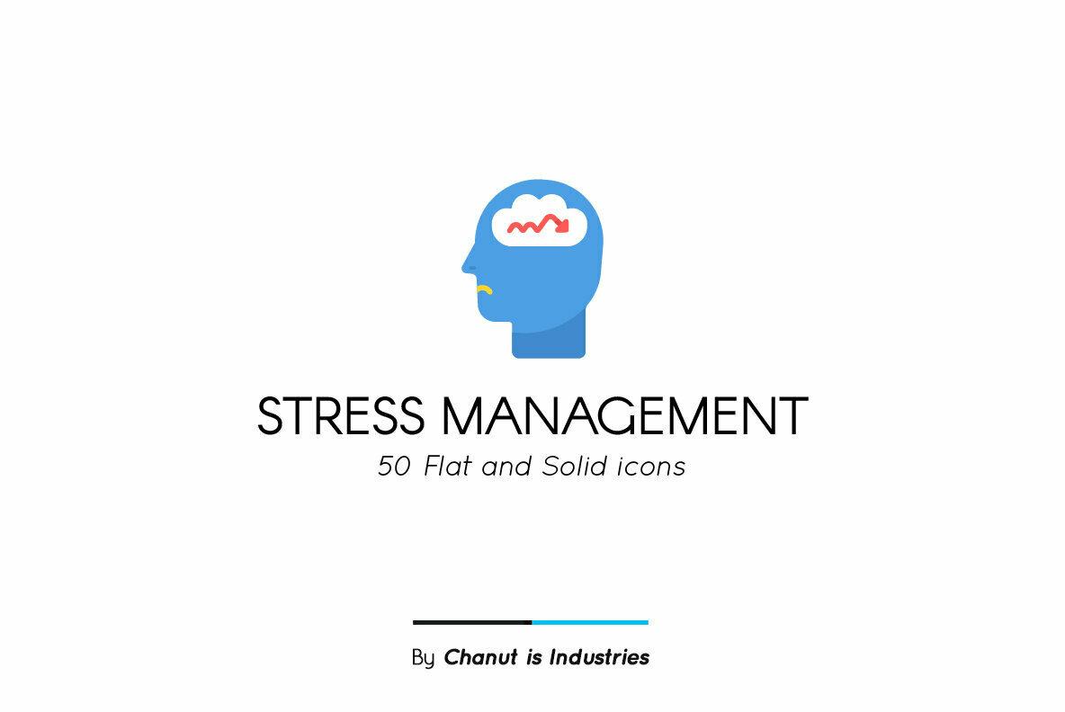 Stress Management Premium Icon Pack