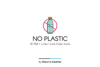 No Plastic Premium Icon Pack