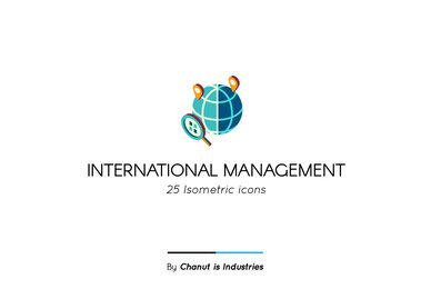 International Management Premium Icon Pack