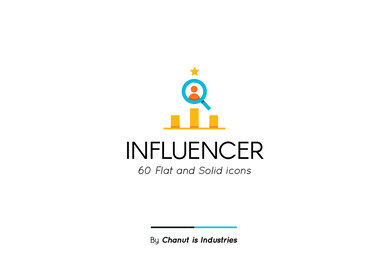 Influencer Premium Icon Pack