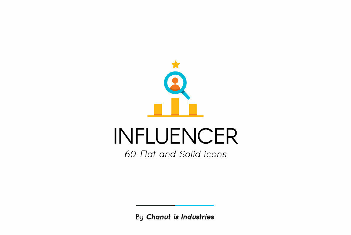 Influencer Premium Icon Pack