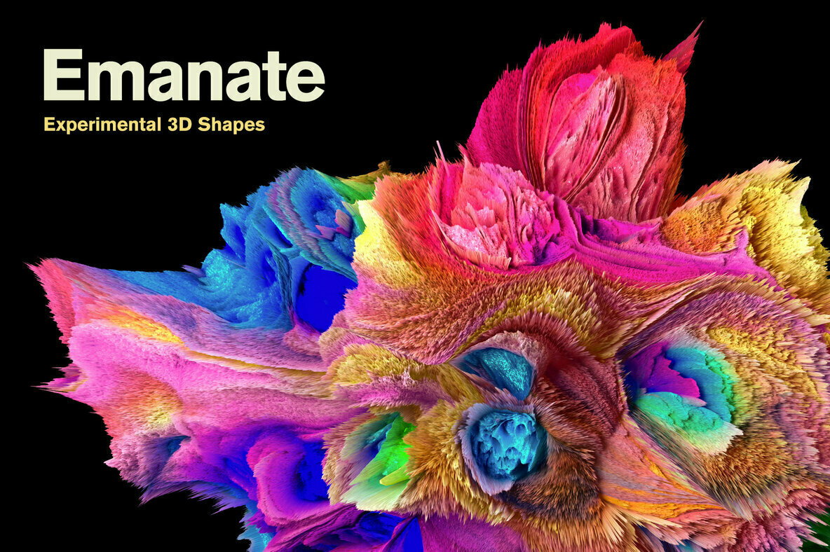 Emanate     Experimental 3D Shapes