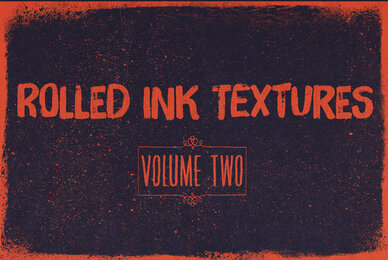 Rolled Ink Textures Volume 02