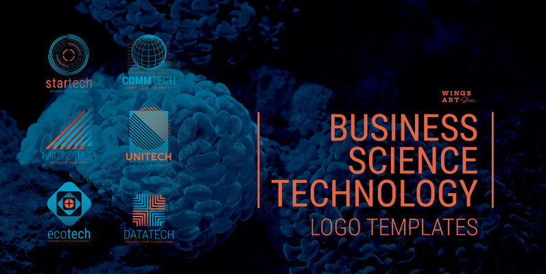 Business Science and Technology Logo Templates