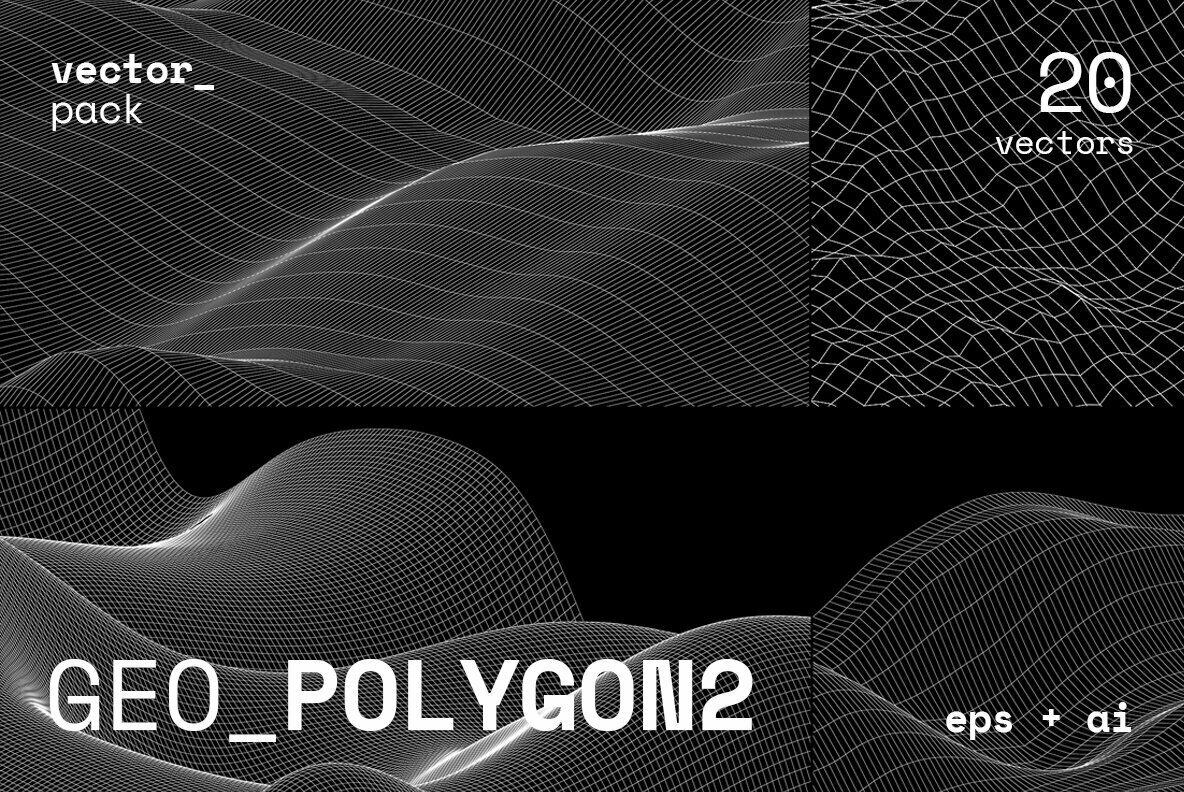 GEO POLYGON2 Vector Pack