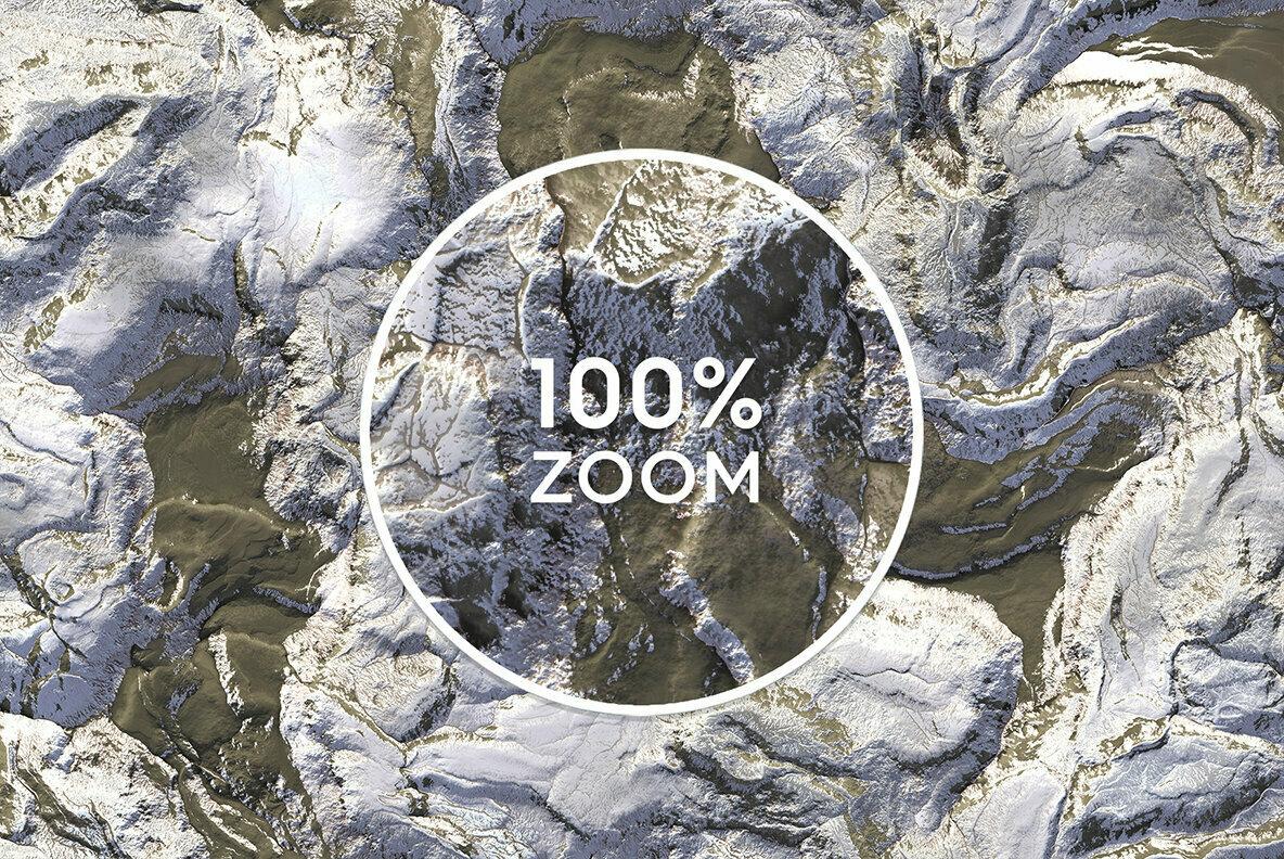 20 Hills Topography Top View Background Textures