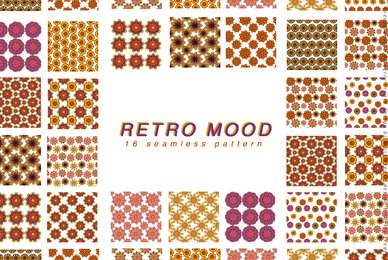 Retro Mood Pattern Set