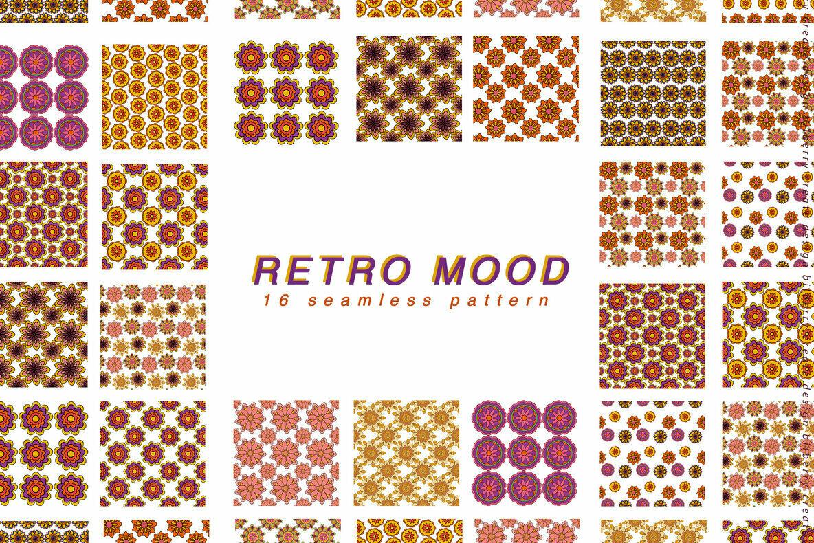 Retro Mood Pattern Set