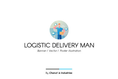 Logistic Delivery Premium Illustration pack