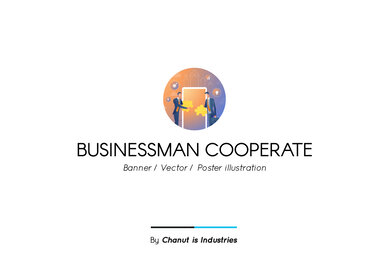Businessman Cooperate Premium Illustration pack