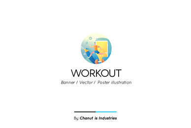 Workout Premium Illustration pack