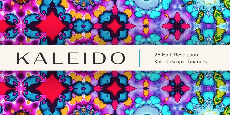 Kaleido     25 High Resolution Kaleidoscopic Textures