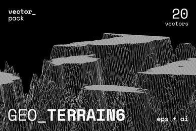 GEO TERRAIN6 Vector Pack