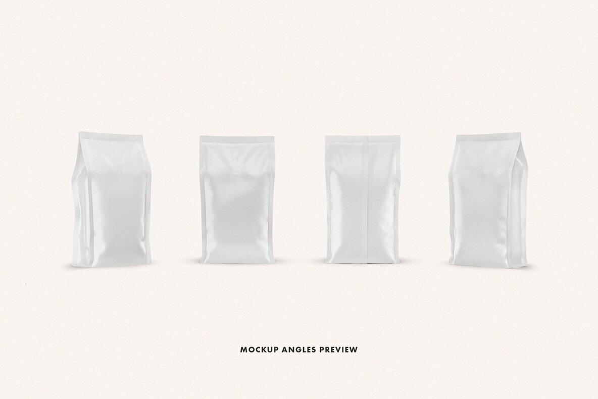 Coffee Bag Mockup Set