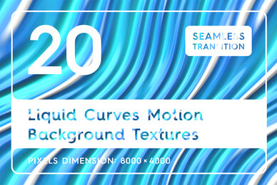 20 Liquid Curves Motion Background Textures