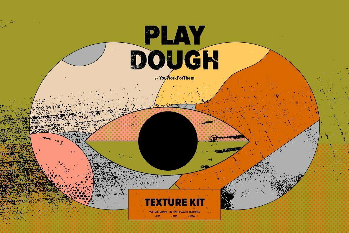Play Dough Texture Kit