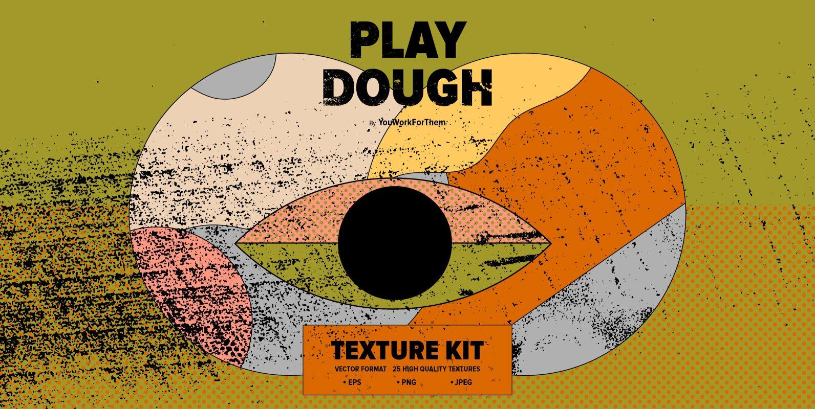 Play Dough Texture Kit