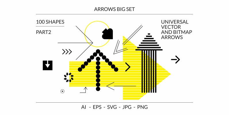 100 Arrows Set Part2