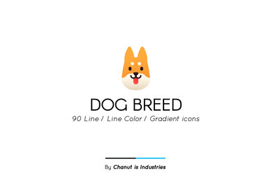 Dog Breed Premium Icon pack