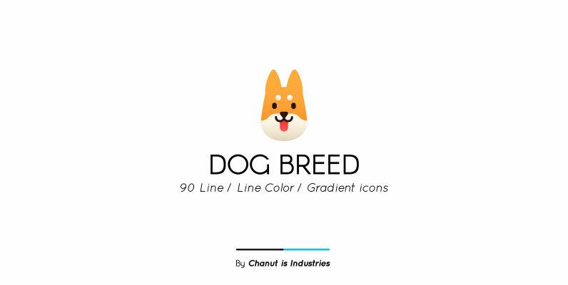 Dog Breed Premium Icon pack