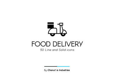 Food Delivery Premium Icon pack