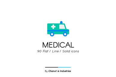 Medical Premium Icon pack