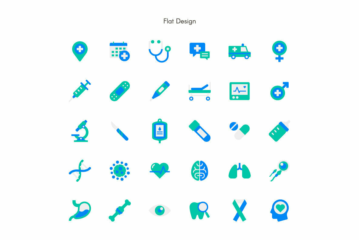 Medical Premium Icon pack