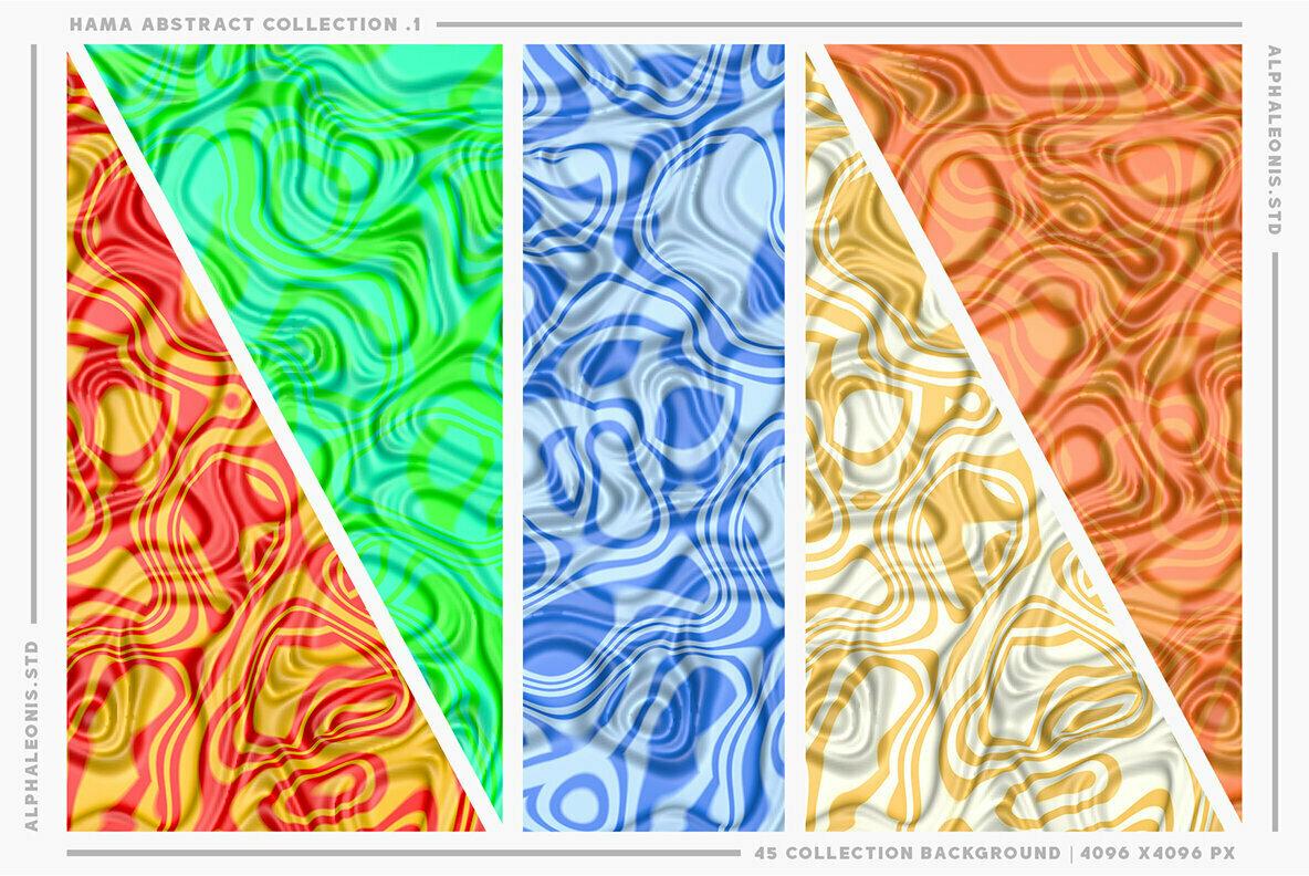 Abstract Liquid Textures